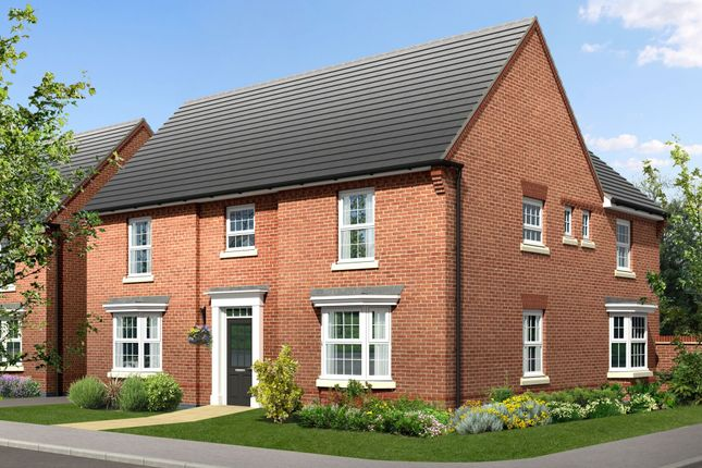 "Thumbnail Detached house for sale in ""Henley"" at Warkton Lane, Barton Seagrave, Kettering"