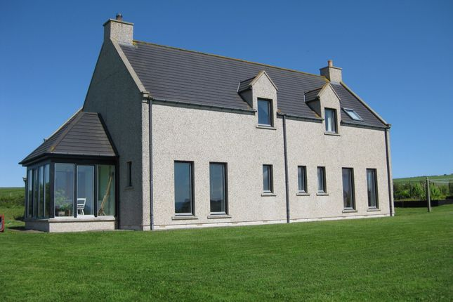 Thumbnail Detached house for sale in Geothe Road, Dounby, Orkney