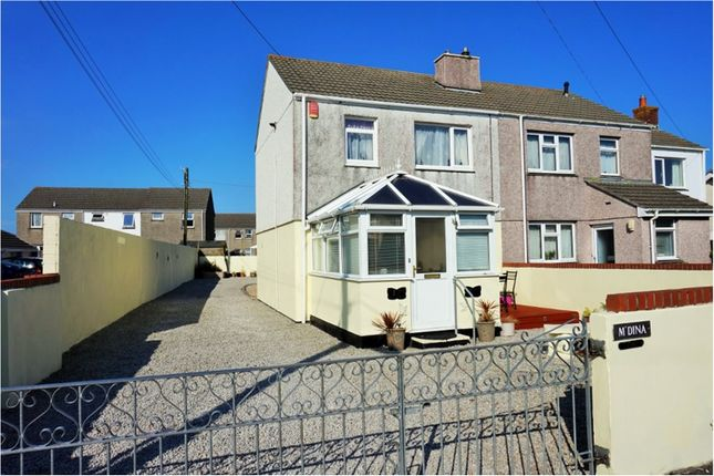 Thumbnail Semi-detached house for sale in Foundry Road, Camborne
