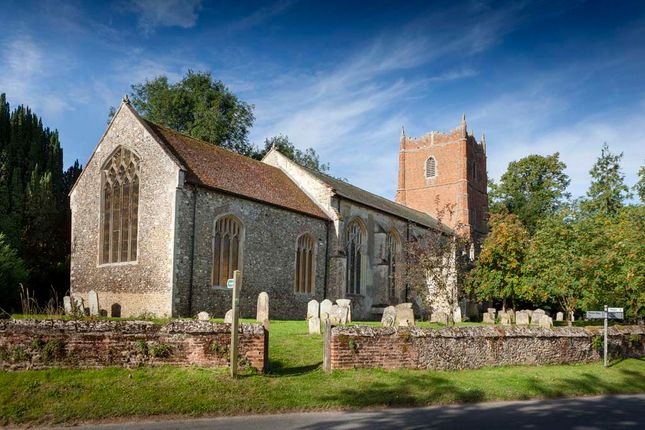 St Mary's Church of Poppy Way, Gislingham IP23