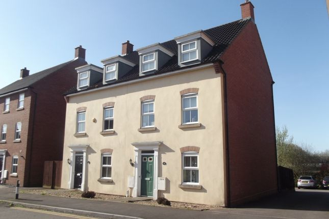 Thumbnail Semi-detached house to rent in Erw Hir (Longacres) .., Bridgend