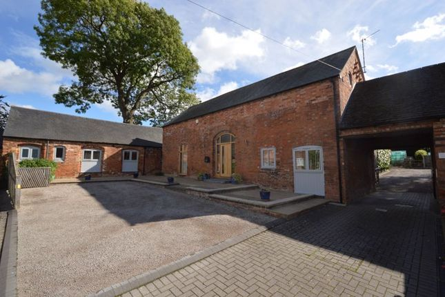 Thumbnail Barn conversion for sale in Main Street, Higham-On-The-Hill, Nuneaton