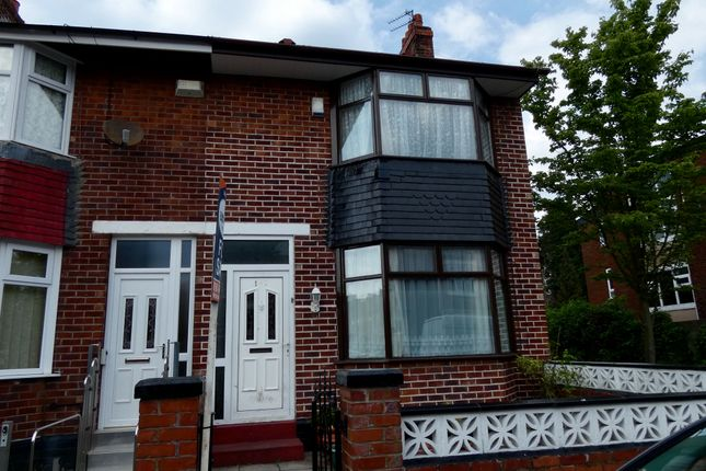 Thumbnail Semi-detached house for sale in Humphrey Road, Old Trafford, Manchester