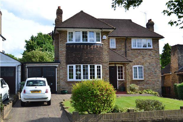 Thumbnail Detached house for sale in Hawthorn Road, Wallington, Surrey