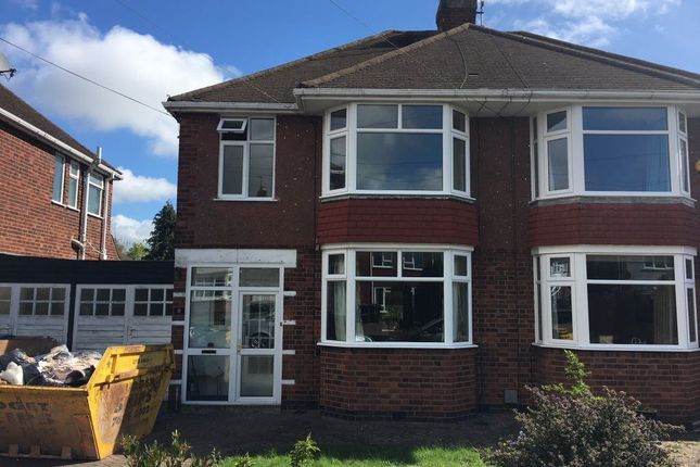 Thumbnail Semi-detached house to rent in Arnold Avenue, Styvechale