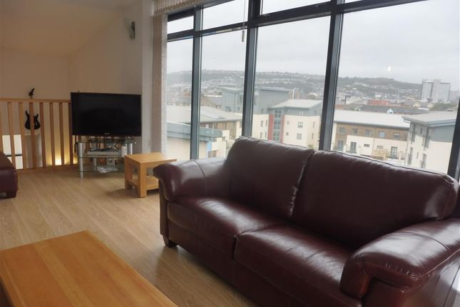 Thumbnail Flat to rent in St Christophers Court, Maritime Quarter, Swansea