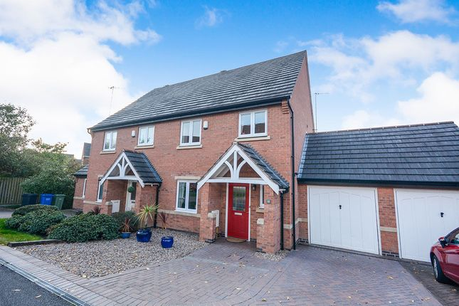 Thumbnail Semi-detached house for sale in Chadwell Close, Chesterfield