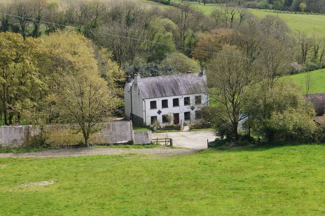 Thumbnail Farmhouse for sale in Blaenycoed Road, Carmarthen
