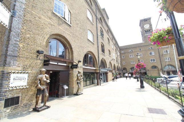Front View of St Katherine Docks, London E1W