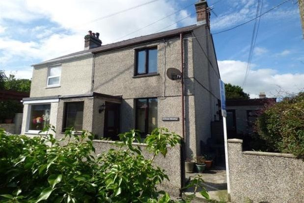 Thumbnail End terrace house to rent in Llanfairpwllgwyngyll