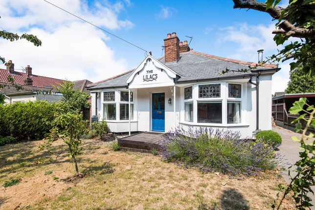 Thumbnail Detached bungalow for sale in Earlham Road, Norwich