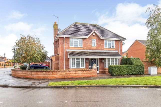 Thumbnail Detached house for sale in Mark Antony Drive, Heathcote, Warwick