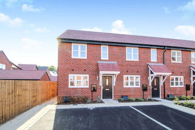 Thumbnail End terrace house for sale in 36 Wheatcroft Drive, Nottingham