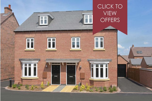 """Thumbnail Semi-detached house for sale in """"Kennett"""" at The Long Shoot, Nuneaton"""