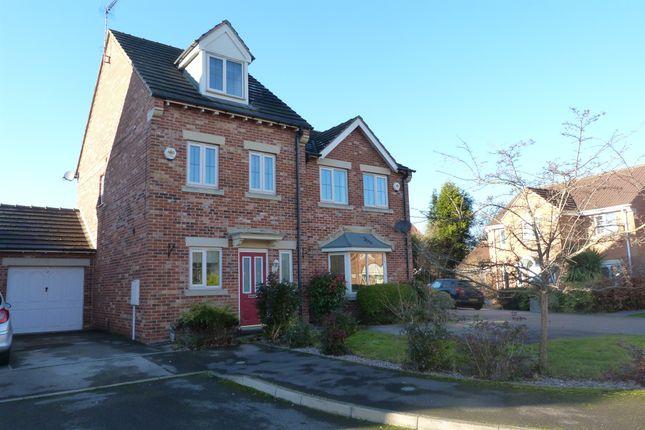 Thumbnail Town house for sale in Burleigh Rise, Tuxford, Newark