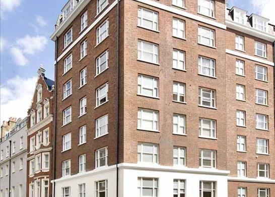 External of Hill Street, Mayfair, London W1J