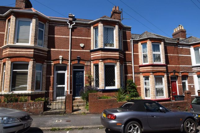 Thumbnail Terraced house for sale in Priory Road, Exeter