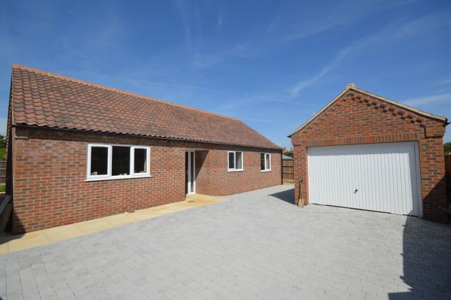 Thumbnail Detached bungalow for sale in 4 Tony Scase Court, Lynn Road, Grimston