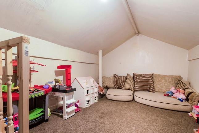 Attic Room of St. Georges Avenue, Blackburn, Lancashire, . BB2
