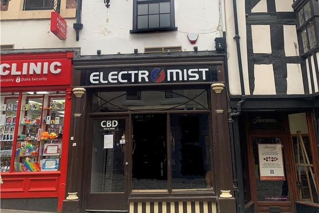 Thumbnail Retail premises to let in Prominently Located Shop Unit, 39 Pride Hill, Shrewsbury, Shropshire