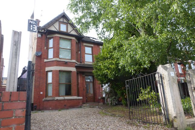 Thumbnail Flat for sale in Serpentine Road, Wallasey