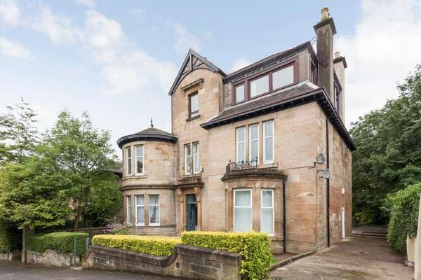 Thumbnail Flat for sale in 0/1, 17 Westercraigs, Glasgow