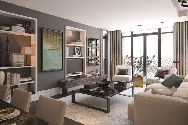 Thumbnail Flat for sale in Young Street, London