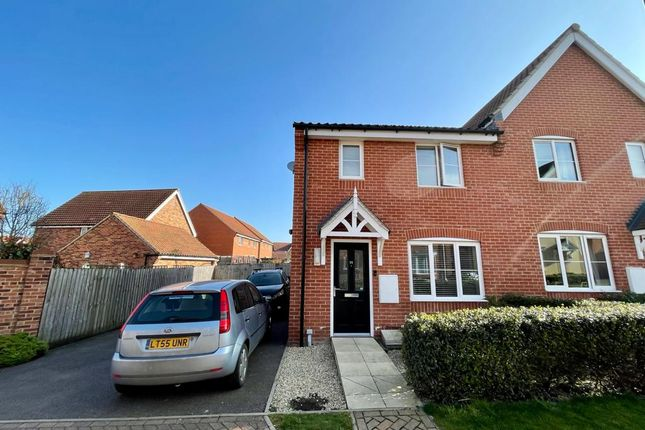 3 bed semi-detached house for sale in Crownfield Road, Glemsford, Sudbury CO10