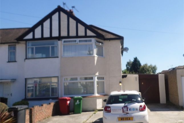 Thumbnail End terrace house to rent in Litcham Spur, Slough, Berks