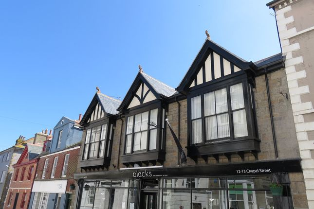 Thumbnail Flat to rent in Chapel Street, Penzance