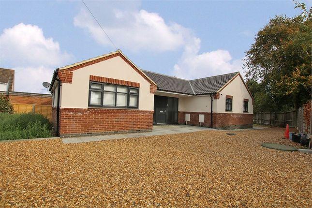 Thumbnail Detached bungalow for sale in Brafield Road, Cogenhoe, Northampton