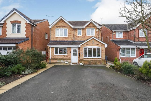 4 bed detached house for sale in All Saints Meadows, Dinnington, Sheffield S25