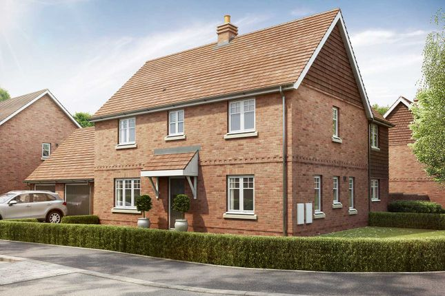 "Thumbnail Detached house for sale in ""The Kempthorne"" at Crow Lane, Crow, Ringwood"