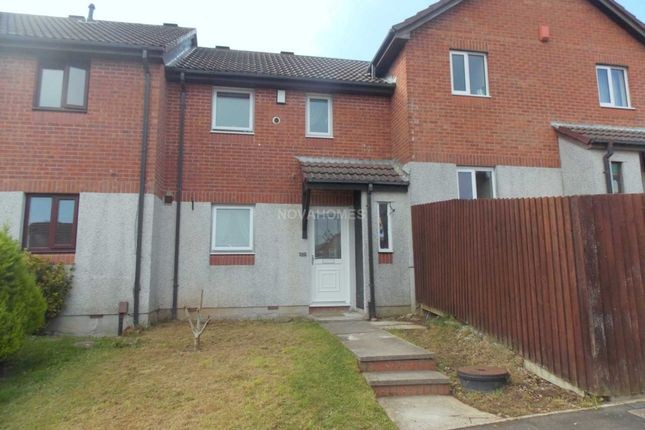 Thumbnail Terraced house to rent in Trevose Way, Manorfields