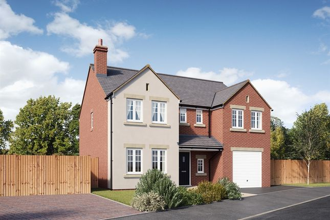 "Thumbnail Detached house for sale in ""The Chillingham "" at Ashford Hill Road, Ashford Hill, Thatcham"
