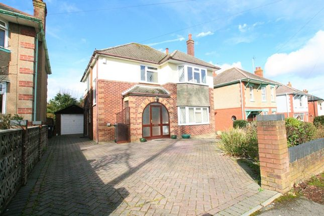 Thumbnail Detached house for sale in Ashridge Avenue, Northbourne, Bournemouth