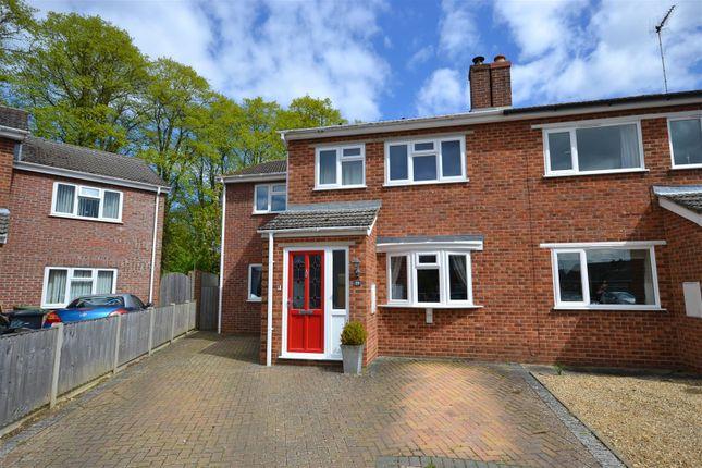 Thumbnail Semi-detached house for sale in Shelduck Drive, Snettisham, King's Lynn