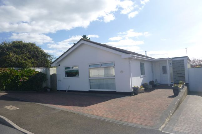 Thumbnail Detached bungalow to rent in Gurney Close, Bude, Cornwall