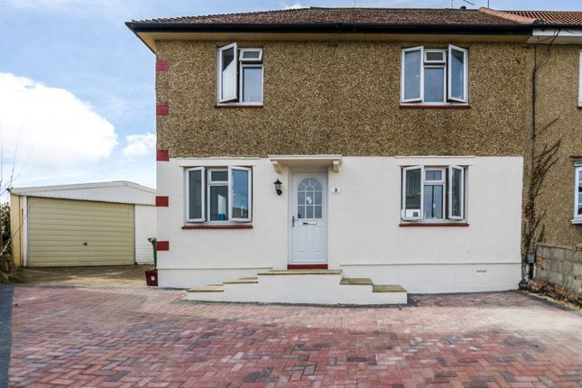 Thumbnail Semi-detached house for sale in West Heath Close, Crayford