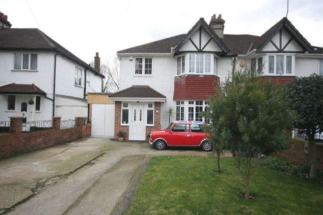 Thumbnail Semi-detached house for sale in Brook Avenue, Wembley Park, Wembley, Greater London