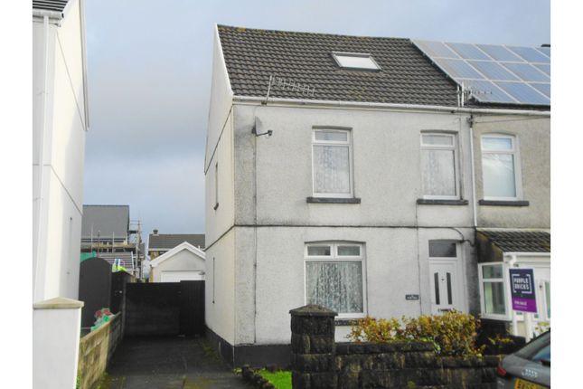 Thumbnail Semi-detached house for sale in Brynteg Road, Gorseinon