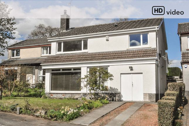 Thumbnail Detached house for sale in Birch Road, Killearn, Glasgow