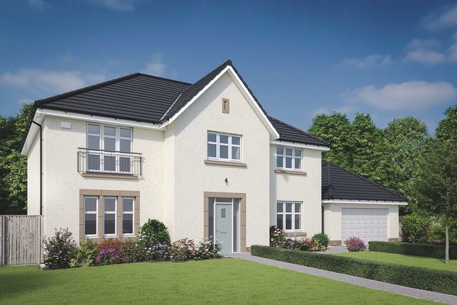 Thumbnail Detached house for sale in Ravelrig Road, Balerno, Edinburgh