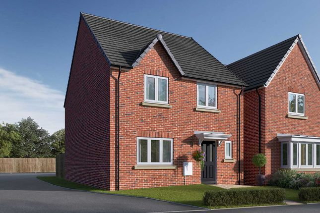 "Thumbnail Detached house for sale in ""The Mylne"" at Racecourse Road, East Ayton, Scarborough"