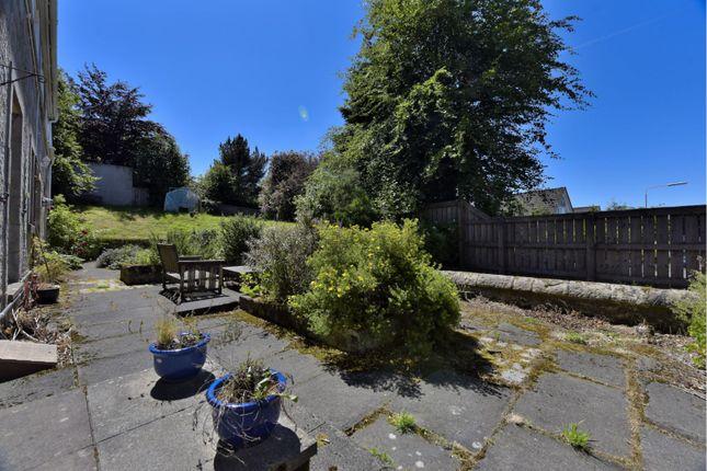 Rear Garden of Upper Kinneddar, Saline, Dunfermline KY12