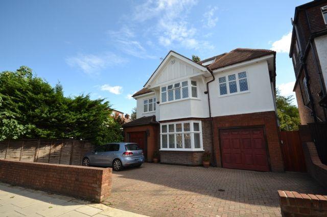 Thumbnail Detached house to rent in Princes Park Avenue, Golders Green, London
