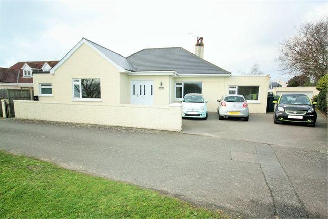 Thumbnail Detached bungalow for sale in Park Estate, La Route Des Genets, St. Brelade, Jersey