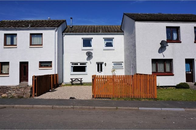 Terraced house for sale in Muirfield Road, Brora
