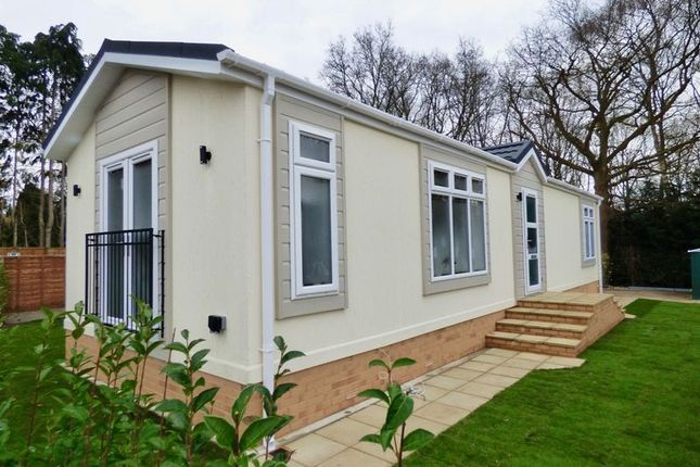 Thumbnail Mobile/park home for sale in Mytchett Farm Park, Mytchett Road, Mytchett, Camberley