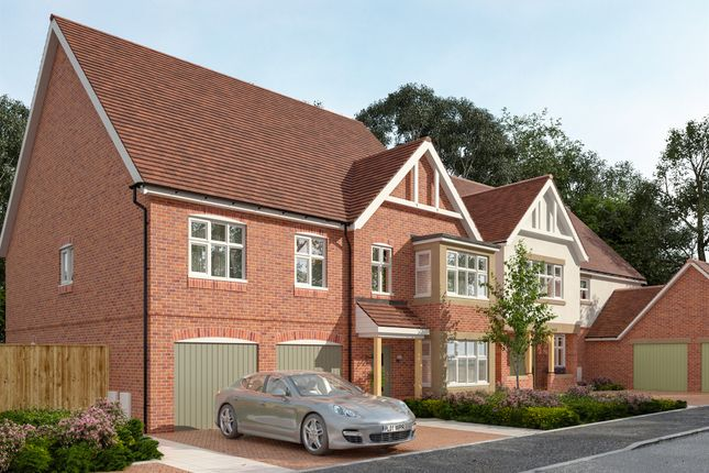 Thumbnail Detached house for sale in Wildflower Rise, The Park, Mansfield